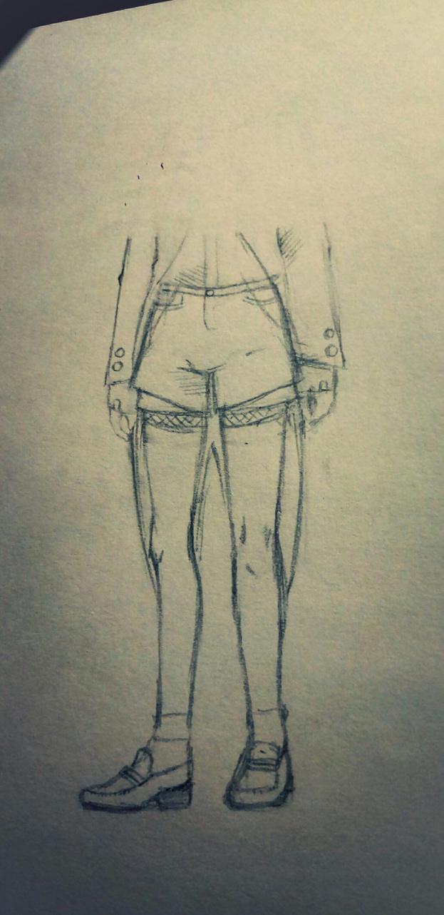 OC's legs by Sophieartpl