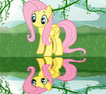 Fluttershy at a lake