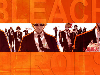 Bleach Heroes by phnxprmnt021
