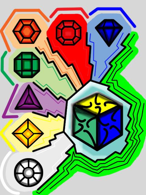 how to draw a 4d hypercube