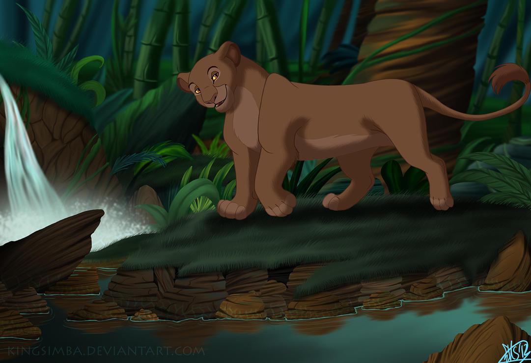 Sarabi In The Jungle by KingSimba