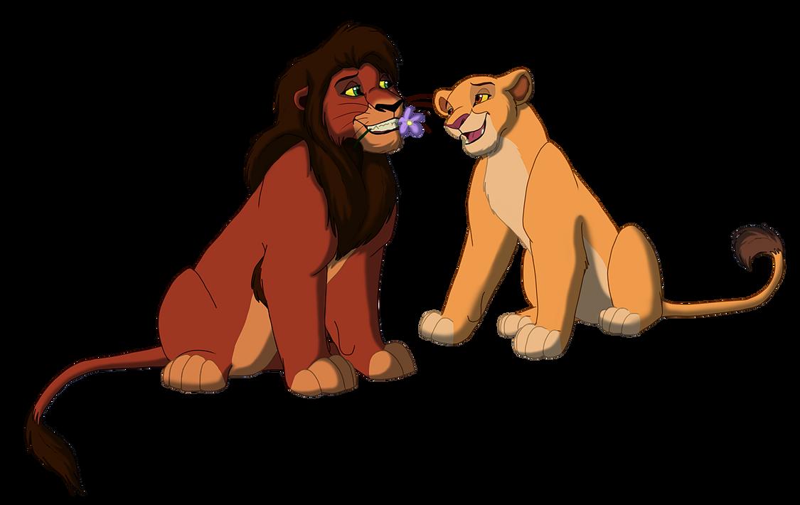 Kovu And Kiara By Kingsimba On Deviantart