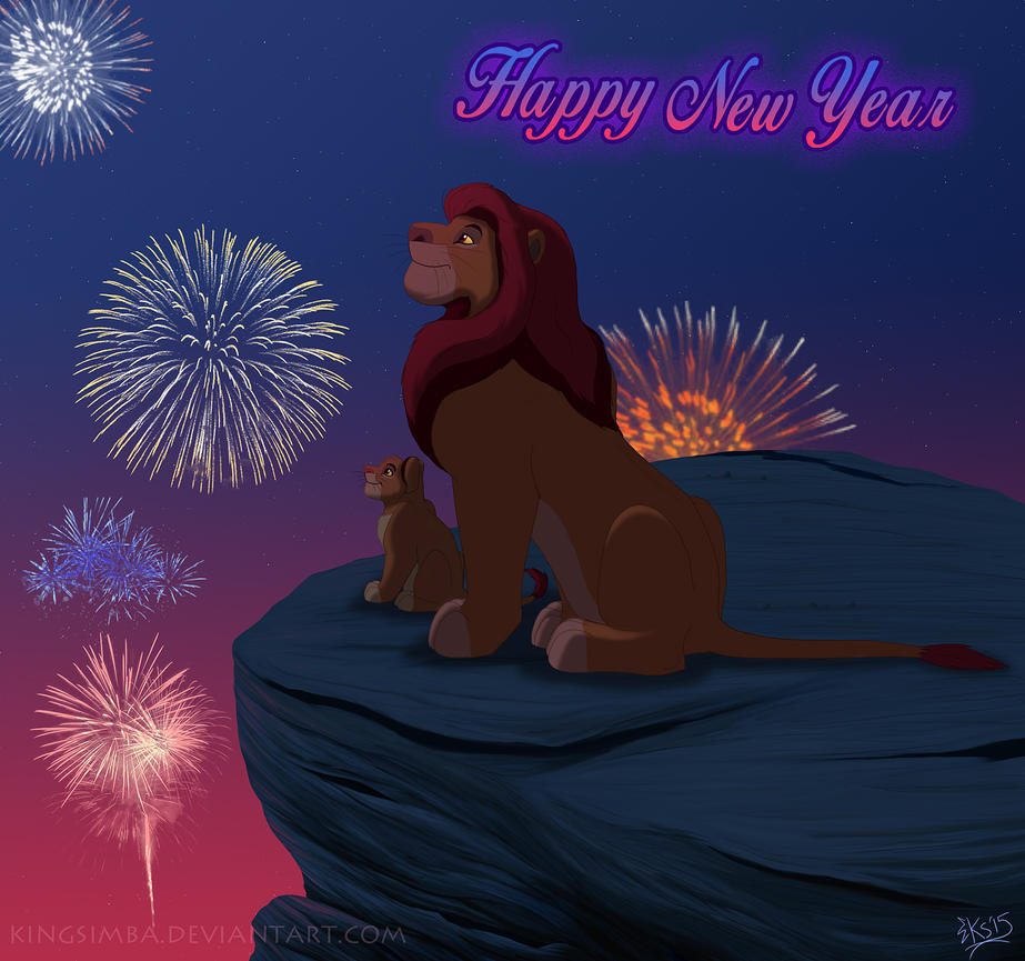 Happy 2015 by KingSimba