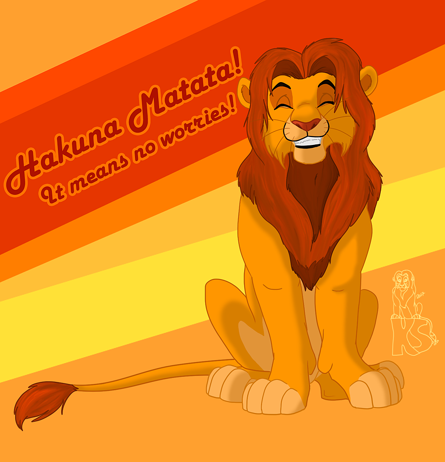 simba art on the--lion-king-club
