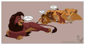 Kovu And Kiara's Family