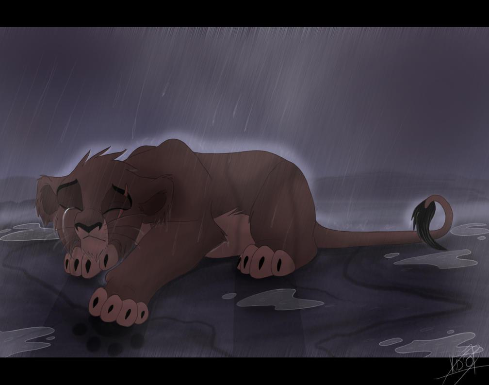 De una feliz vida a una vida de odio y venganza (Taka/Scar Fan-Fic) - Página 2 Tears_in_the_Rain_by_KingSimba