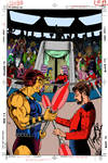 ST:TNG #2 Original Cover Art by Jerome K. Moore