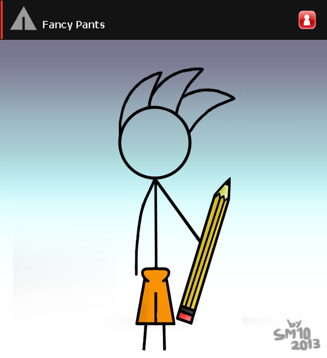 how to draw fancy pants