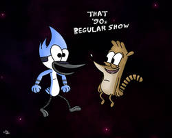 That '90s Regular Show by SuperMaster10