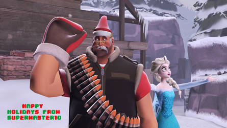 Merry Christmas 2014 [GMOD] by SuperMaster10