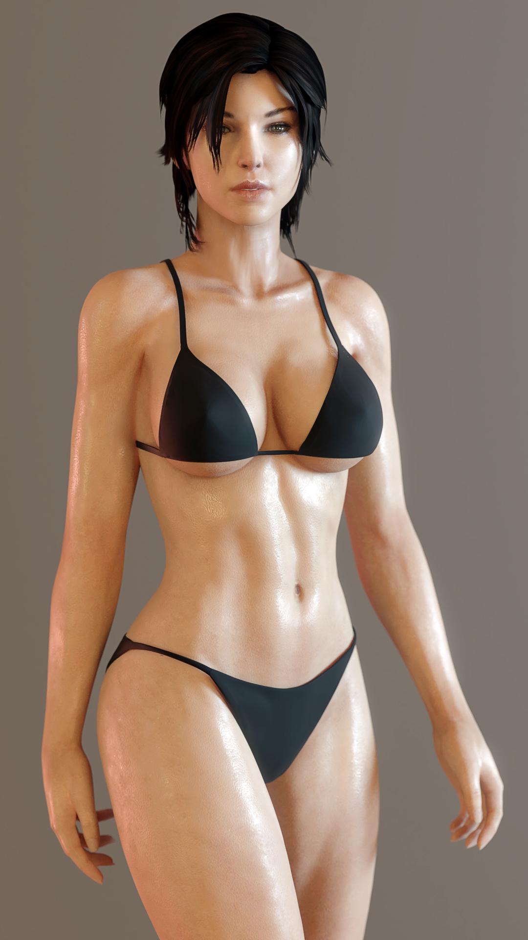 Something Lara croft in bikini pictures