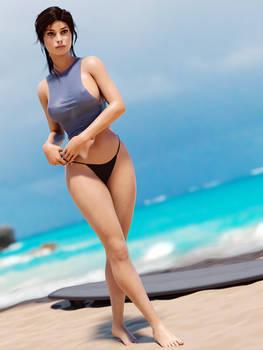 Lara - Surfer
