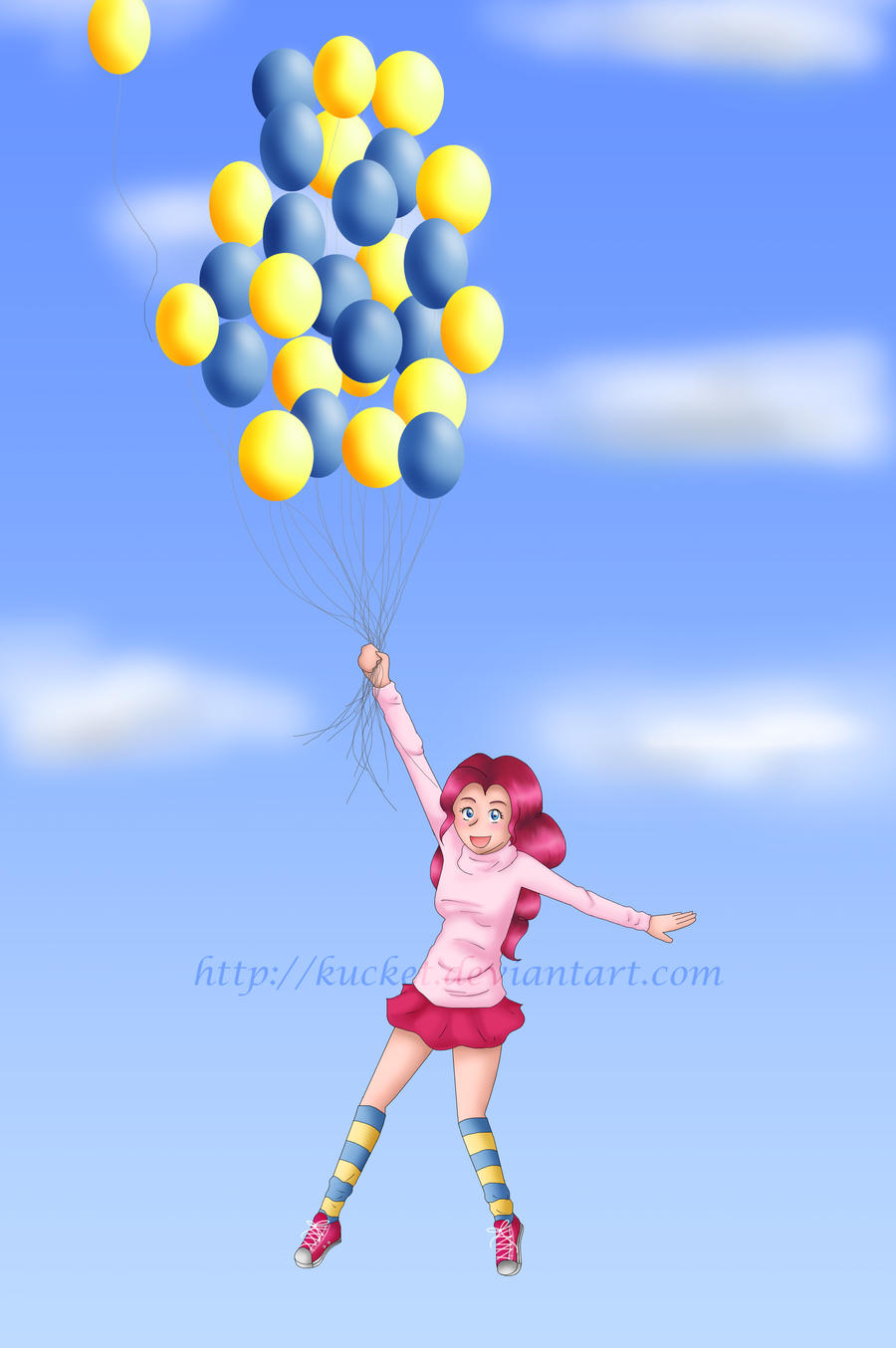 Fun With Balloons by Kucket
