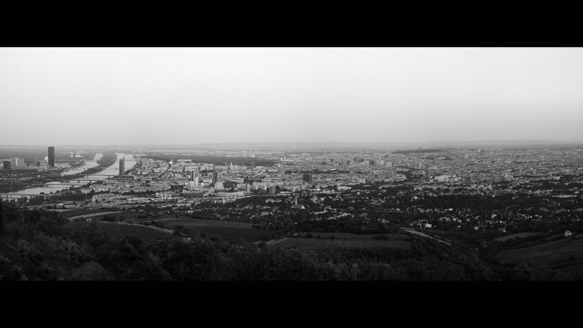 Vienna - before dusk by O-Renzo
