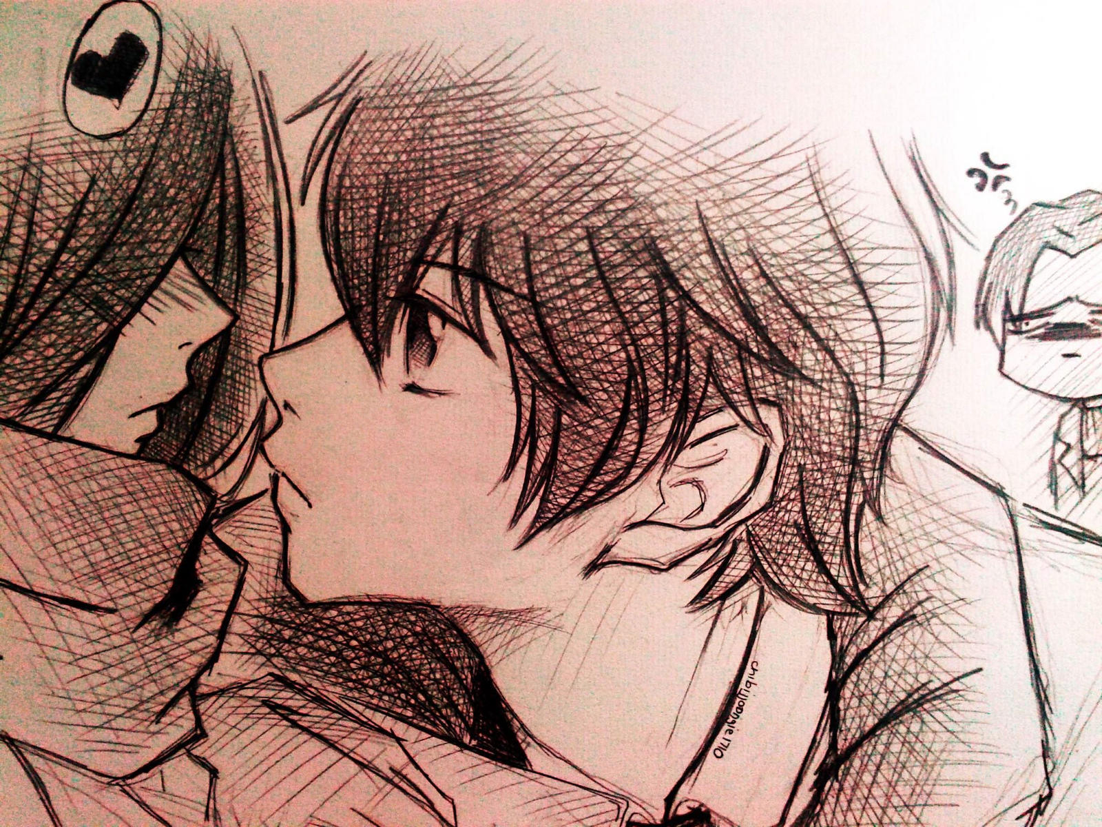 My Old Pic 3 Mikasa And Eren By Camiliaaaaa On Deviantart