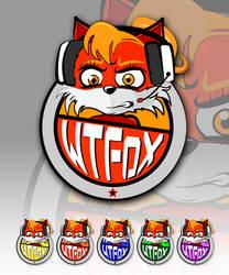 WTFox Logo design