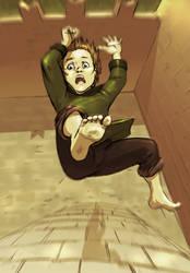 Bran: falling by Pojypojy