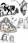 ASoIaF sketch dump