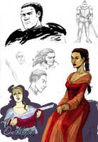 ASoIaF sketch dump 2 by Pojypojy