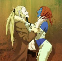 Sabretooth vs. Mystique 010