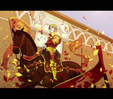 Tywin triumphant by Pojypojy
