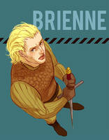 Brienne frowns on your BS by Pojypojy