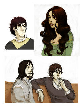 Assorted ASoIaF folks