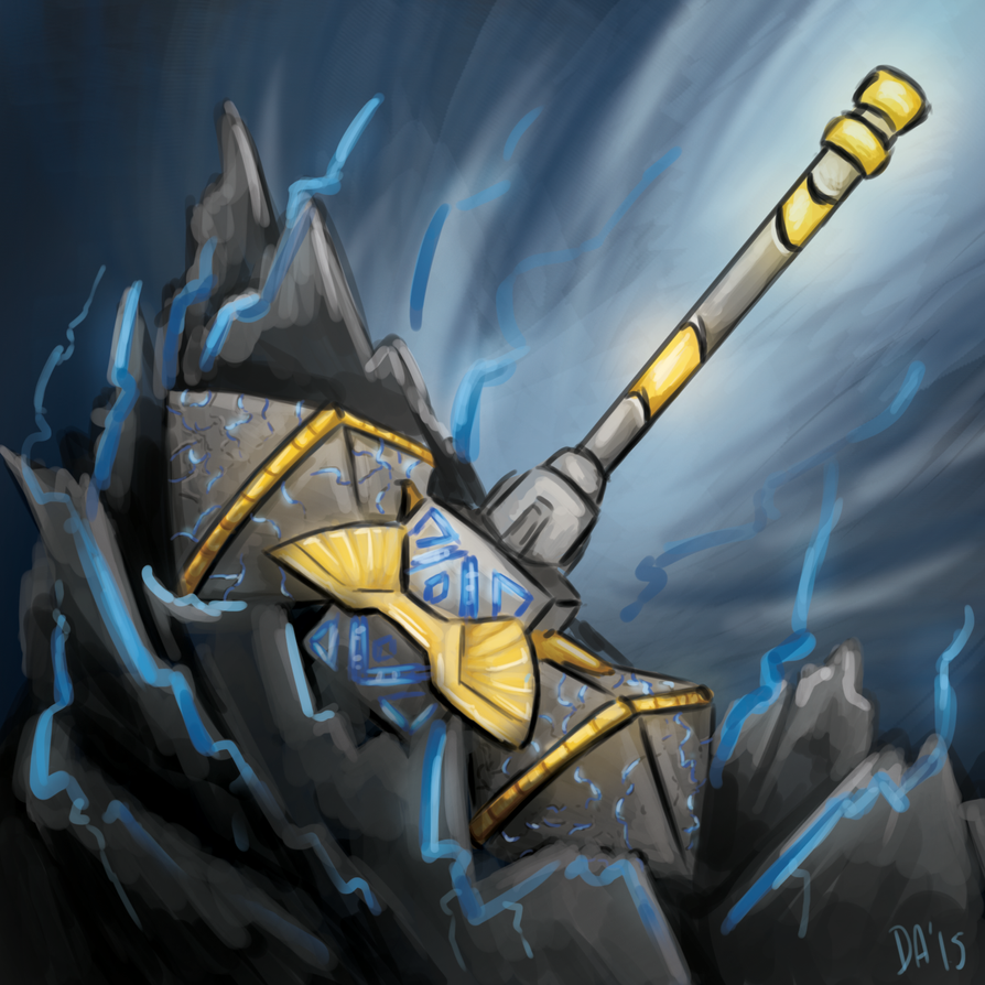 commission_thors_hammer_smite_by_divane2