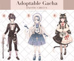 [Open 3/3] Gacha Adoptable : Exotic Circus by kyrillust