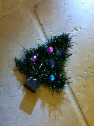 Christmas Tree Hairbow