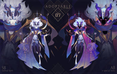 [CLOSED] ADOPTABLE AUCTION no.07
