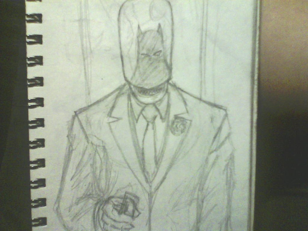 red hood one unfinished sketch by ThomasDrawsStuff