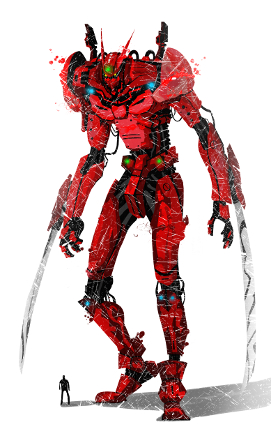 [SVM II : Hommage] CATACLYSME [Libre] My_giant_red_robot_by_ultimateoshima-d78xlbv