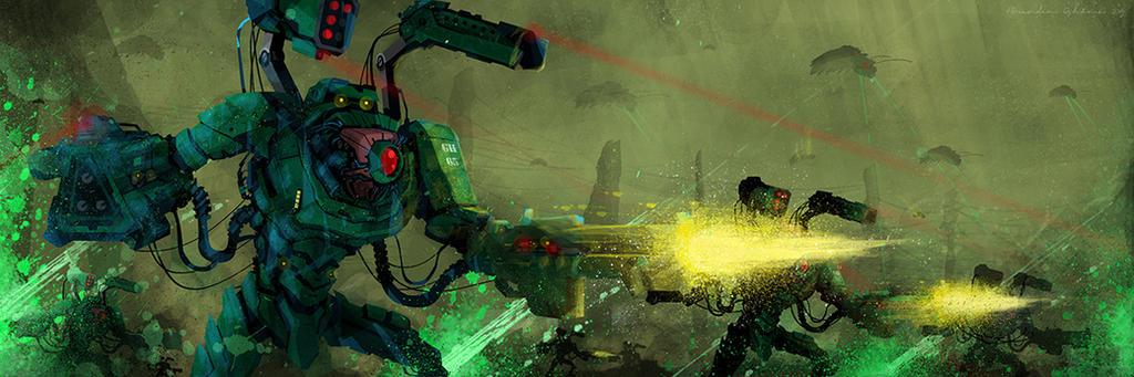 Alien Invasion by UltimateOshima
