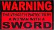 Warning: protected by a woman by Dark1577-7