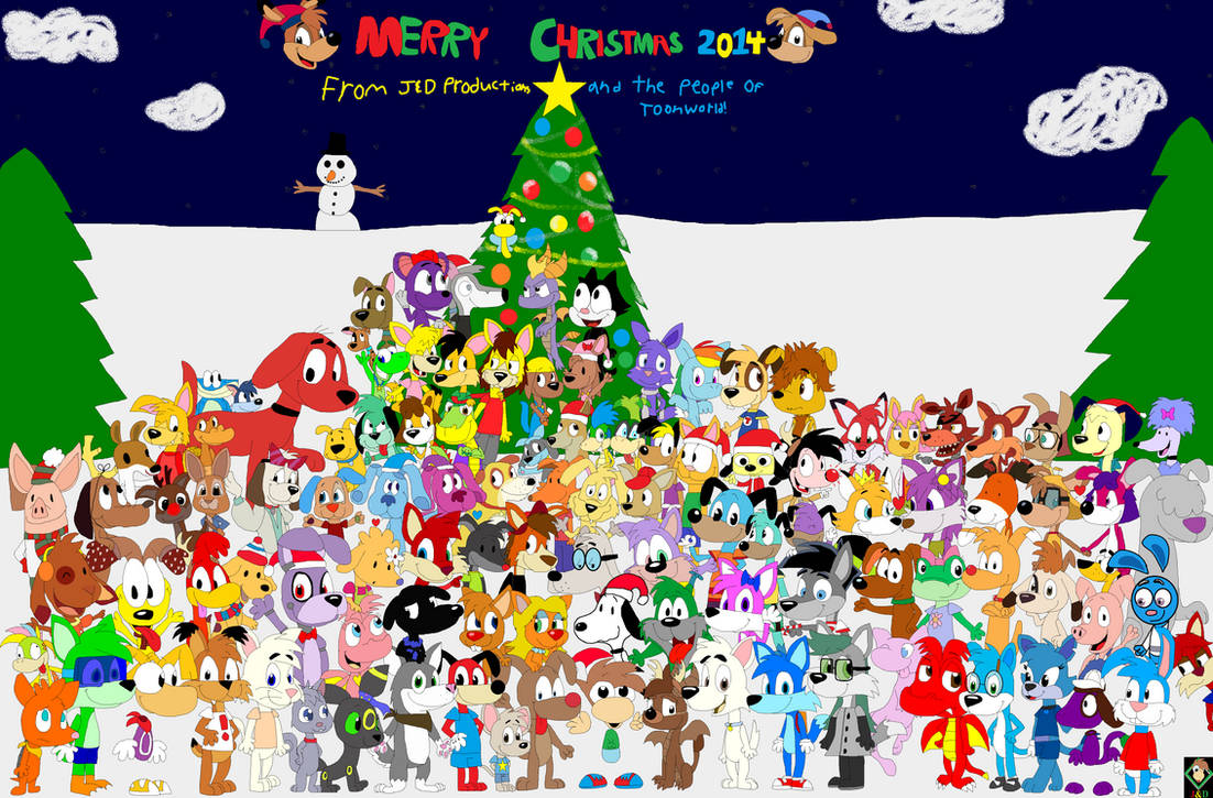 Christmas Group Picture 2014 By JustinandDennis On DeviantArt