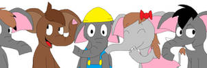 The SAFT Squad Founders as Elephants