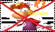 Anti Modern Rayman stamp by JustinandDennis