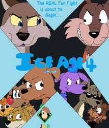 Ice Age 4 My style - Theatrical Poster 1 by JustinandDennis