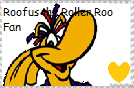 Roofus fan stamp by JustinandDennnis