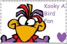 Kooky A. Bird fan stamp by JustinandDennis