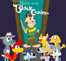 Huckle and the Black Cauldron Poster 1 by JustinandDennis