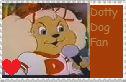 Dotty Dog Fan stamp