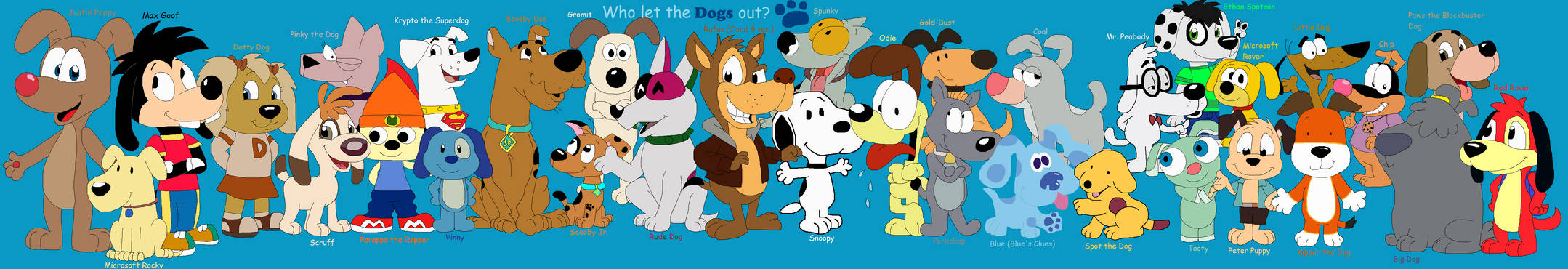My Favorite Cartoon Dogs