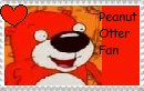 Peanut Otter fan stamp by JustinandDennis