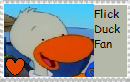 Flick Duck fan stamp by JustinandDennnis
