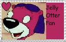 Jelly Otter fan stamp