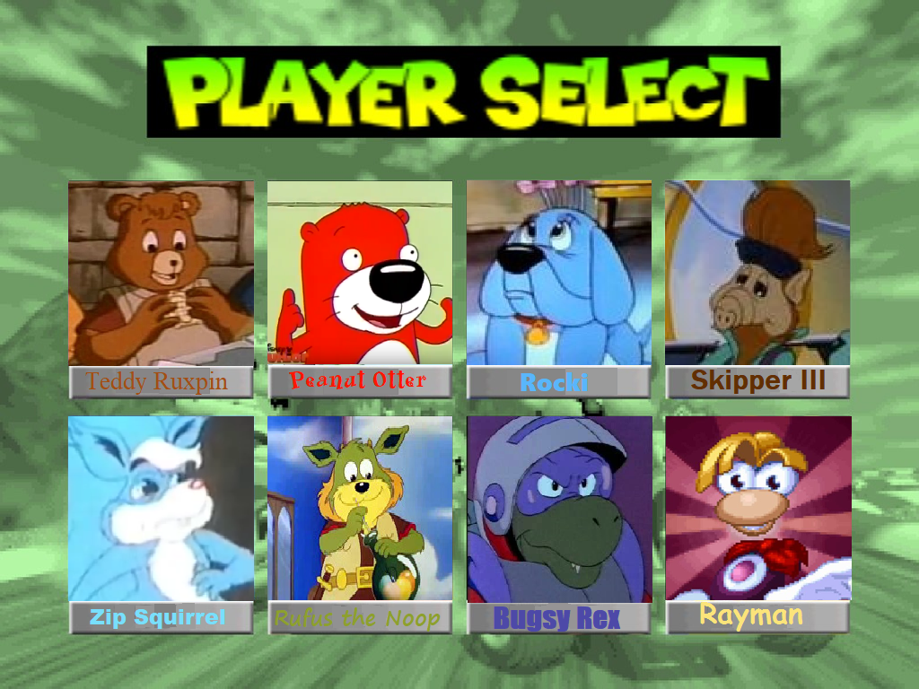 mario kart characters 64