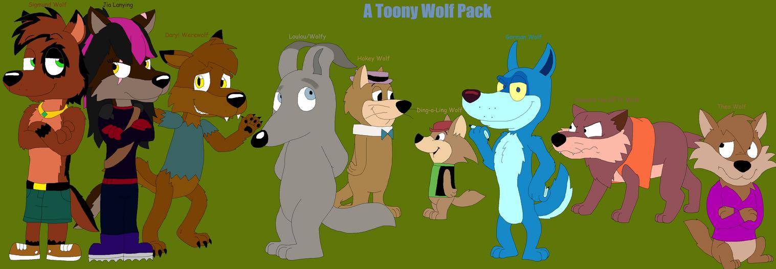 My Favorite Cartoon Wolves By JustinandDennis On DeviantArt