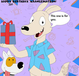 Rocko's Modern Gift for Kraneimation by JustinandDennis